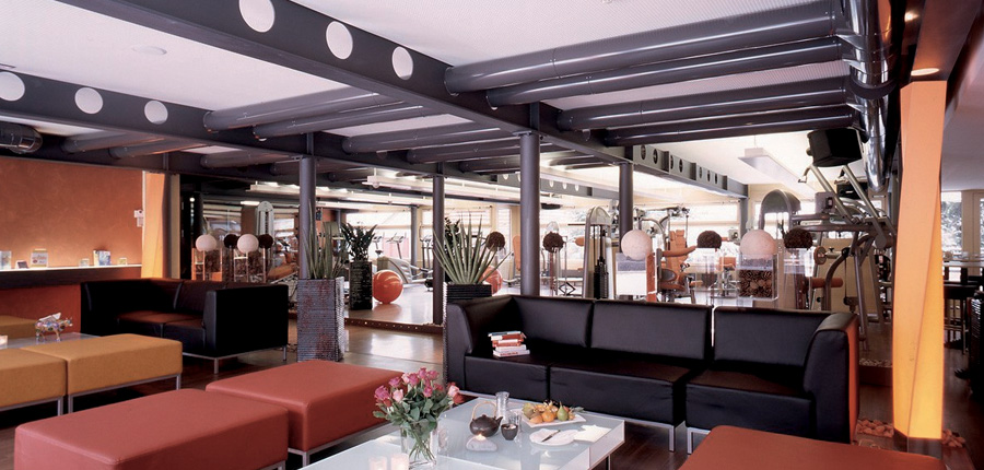 Hotel Eiger, Grindelwald, Bernese Oberland, Switzerland - Gym area.jpg